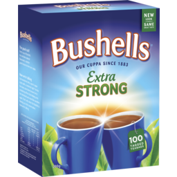 Photo of Bushells Black Tea Extra Strong 100 Pack 200g
