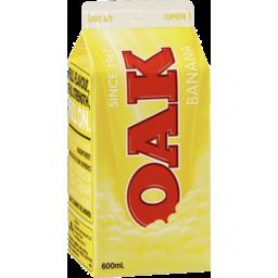 Photo of Oak Banana Flavoured Milk 600ml