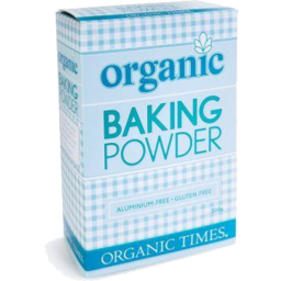 Photo of Organic Times - Baking Powder Aluminium Free - 200g