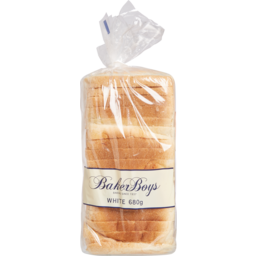 Photo of Baker Boys Square Sliced Bread - White