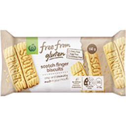 Photo of Free From Gluten Plain Biscuits Scotch Fingers 160g