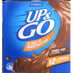 Photo of Sanitarium Up&Go Liquid Breakfast Choc Ice 12x250ml