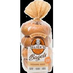 Photo of Glicks Bagel Sesame 4pk