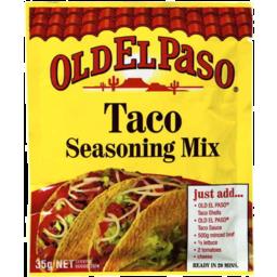 Photo of Old El Paso Taco Seasoning Mix 35gm