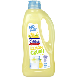 Photo of Cottees Lemon No Added Sugar Cordial 1l