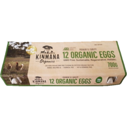 Photo of Kinmana - Eggs - Free Range Organic - 700g