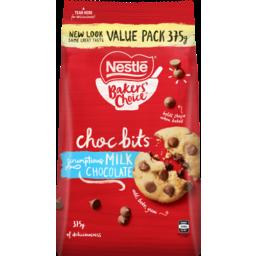 Photo of Nestle Baker's Choice Choc Bits Milk Chocolate 375g