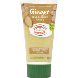 Photo of Gourmet Garden Ginger Cold Blended Paste 80g