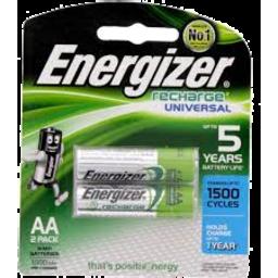 Photo of Energizer Recharge Aa Nh15 2pk