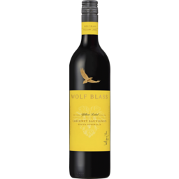 Photo of Wolf Blass Yellow Label Cabernet Sauvignon 750ml