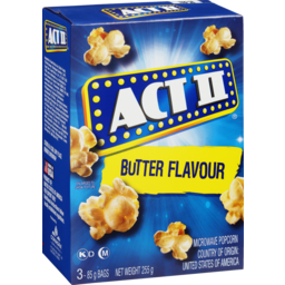 Photo of Act II Microwave Popcorn Butter 255g