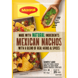 Photo of Maggi Mexican Nachos 41g