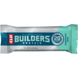 Photo of Clif Chocolate Mint Builders Protein Bar 68g