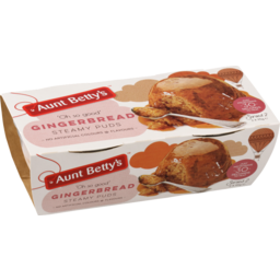 Photo of Aunt Betty's Steamy Puds Gingerbread 2x95g