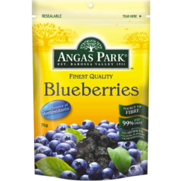 Photo of Angas Park Blueberries (70g)