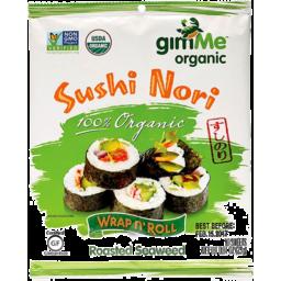 Photo of GimMe Sea Vegetables - Sushi Nori (Roasted Seaweed)