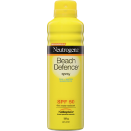 Photo of Neutrogena Beach Defence Spf 50 Sun + Water Sunscreen Spray 184g