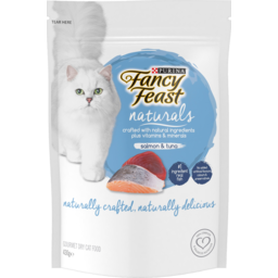 Photo of Purina Fancy Feast Naturals Salmon & Tuna Gourmet Dry Cat Food 430g