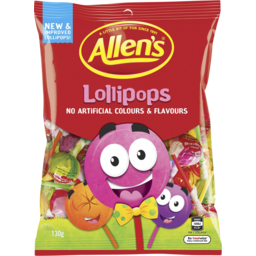 Photo of Allens Lollipops 130gm