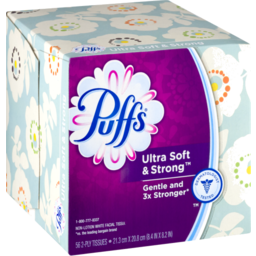 Photo of Puffs Lotion Free Ultra Soft & Strong Tissues - 56 Ct