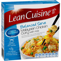 Photo of Lean Cuisine Malaysian Chicken Curry With Rice 280g