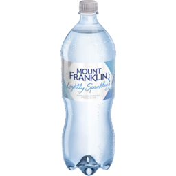Photo of Mount Franklin Lightly Sparkling Water 1.25l