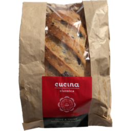 Photo of Cucina Sourdough Olive and Thyme 500g