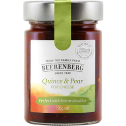 Photo of Beerenberg Quince & Pear For Cheese 195g