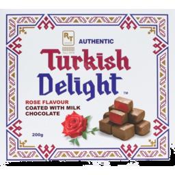 Photo of Authentic Turkish Delight Milk Choc 200gm