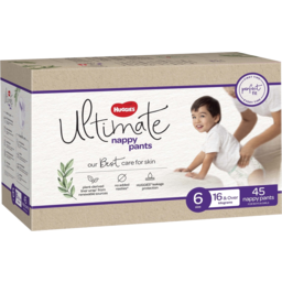 Photo of Huggies Ultimate Nappy Pants For Boys & Girls Size 6 (15kg & Over) 46 Pack