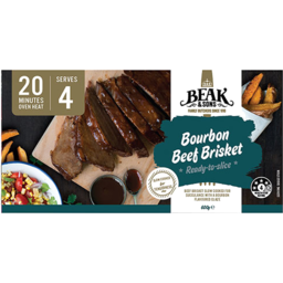 Photo of Beak & Sons Bourbon Beef Brisket 600g