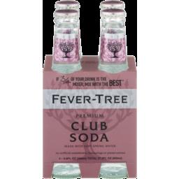 Photo of Fever Tree Sparkling Club Soda Bottles