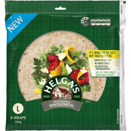 Photo of Helgas Wrap Wholemeal 8pk