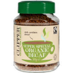 Photo of Clipper Instant Coffee Organic Decaf 100g