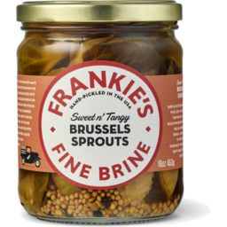 Photo of Frankies Fine Brine Brussels Sprouts 453gm