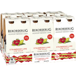 Photo of Rekorderlig Strawberry-Lime Low Sugar Stubbies