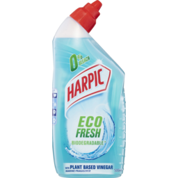 Photo of Harpic Eco Fresh Biodegradable Marine Fragrance With Plant Based Vinegar Toilet Cleaner 500ml