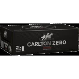 Photo of Carlton Zero 6 X 4 X 375ml Can Carton