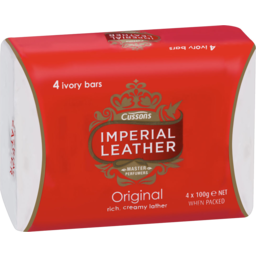 Photo of Imperial Leather Luxurious Original Bar Soap 4 X 100gm