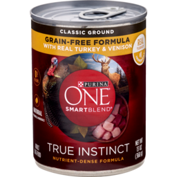 Photo of Purina One Dog Food Dry Smartblend True Instinct Tender Cuts In Gravy Pet Food With Real Turkey & Venison 368g