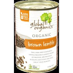 Photo of Global Organics Brown Lentils