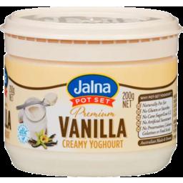 Photo of Jalna Ygt Prem Vanilla 200gm