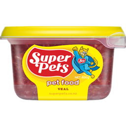 Photo of Superpets Veal Pet Food 900g