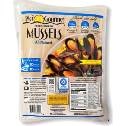 Photo of Pier 33 Gourmet Whole Mussels Fully Cooked