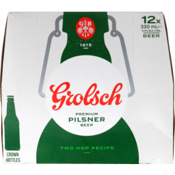 Photo of Grolsch Premium Lager 12 x 330ml Bottles