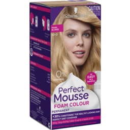 Photo of Schwarzkopf Perfect Mousse 10-0 Pearl Blonde