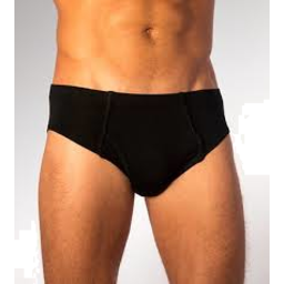 Photo of Bamboo Brief Mens Black M