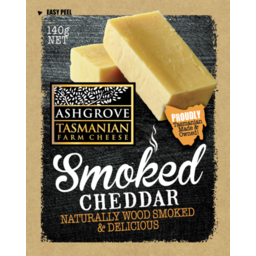 Photo of Ashgrove Cheese Smoked Cheddar 140gm