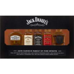 Photo of Jack Daniel's Family Of Brands 5 X 50ml