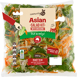 Photo of  Community Co Asian Salad Kit 250g